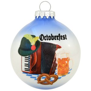Octoberfest Glass Ornament from Bronner's