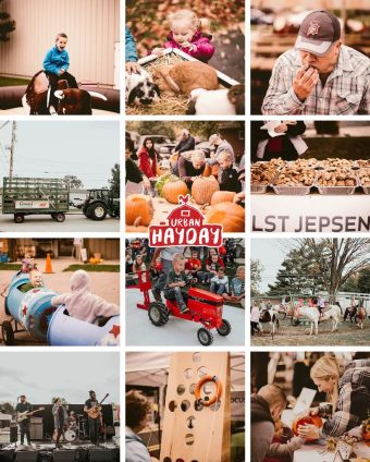 Hudsonville Urban Hay Day harvest festival in Michigan