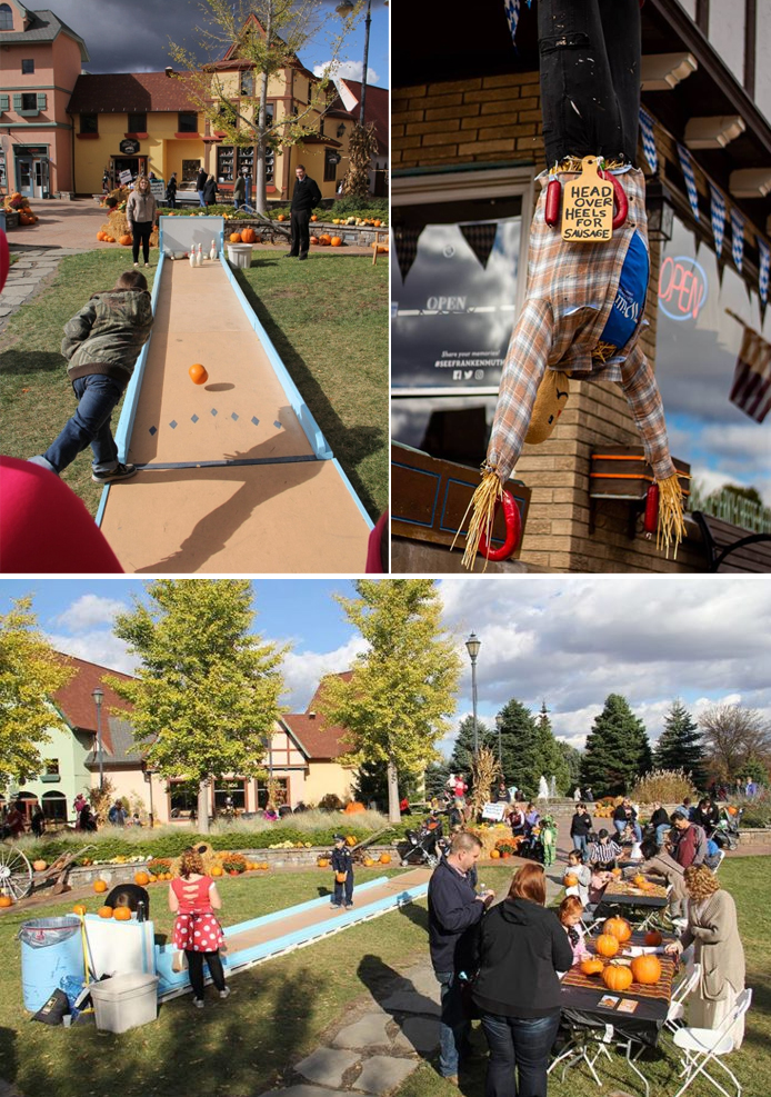 Frankenmuth Scarecrow Fest at the River Place Shops
