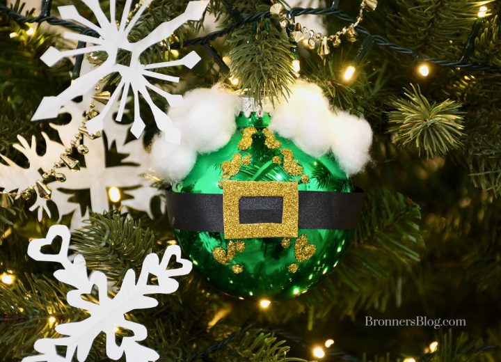 Buddy from the movie Elf DIY Ornament Kids Craft