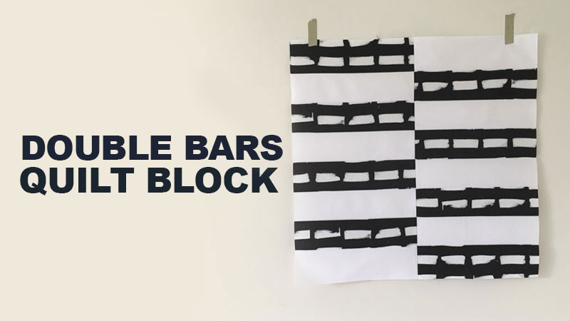 Double Bars Quilt Block