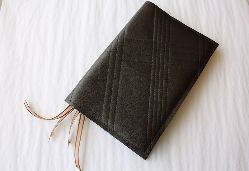 Faux Leather Book Cover - photo 5
