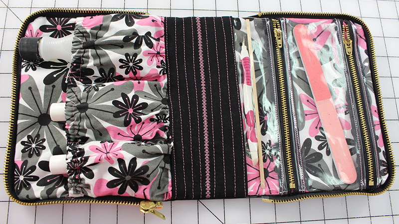 Video Sew-A-Long: Manicure Bag Part 2