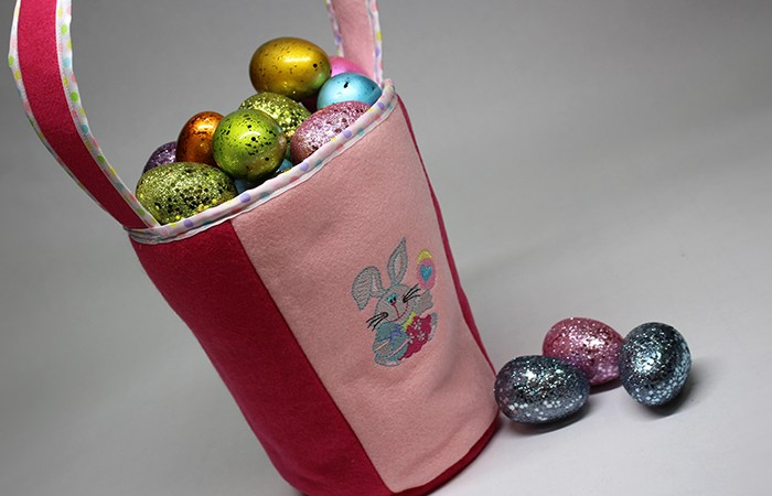 Sewing Tutorial: How to Sew an Easter Basket