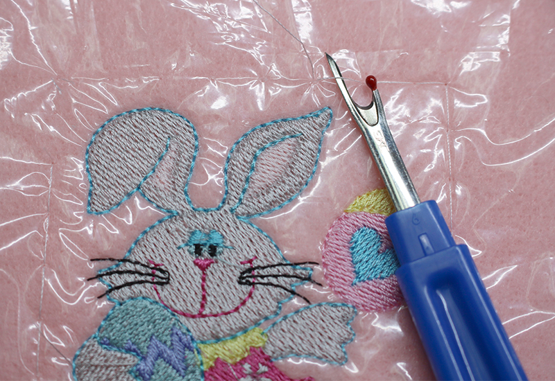 Easter Basket 41 Seam Ripper