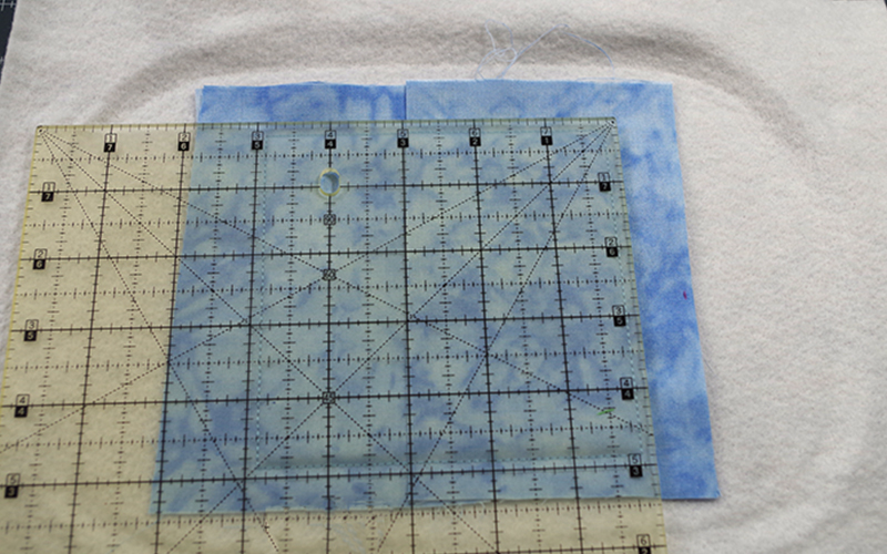 """Trimming Tulip Coaster to hold 1/4"""" Seam allowance"""