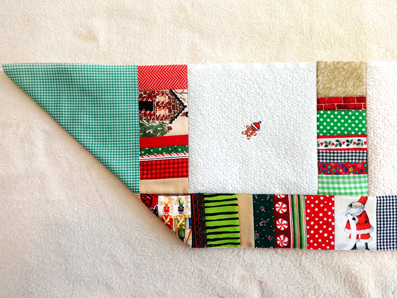 Border 11 folded gingham