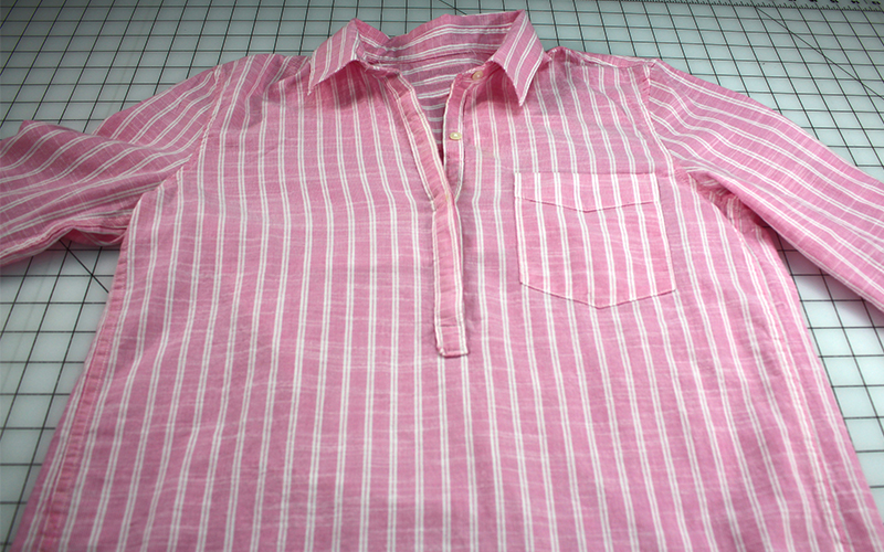 Buttondown shirt-before pic 15