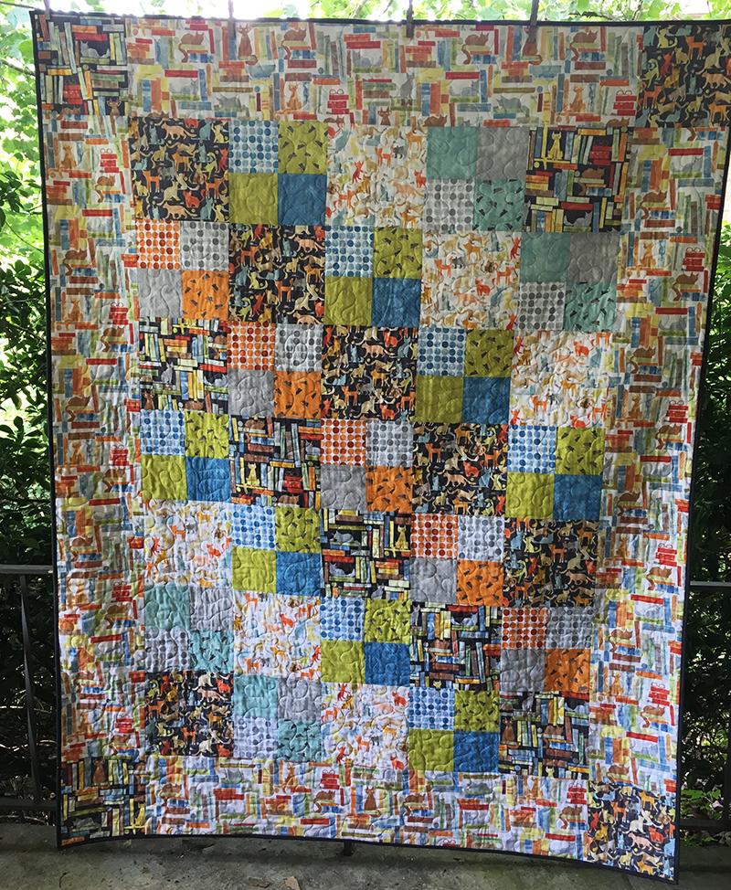 Big Bold Quilt Conquering Large Format Quilts Stitching Sewcial
