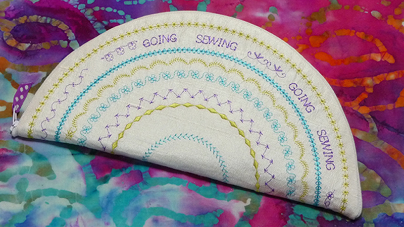 Foot of the Month: Going Sewing Circle Bag