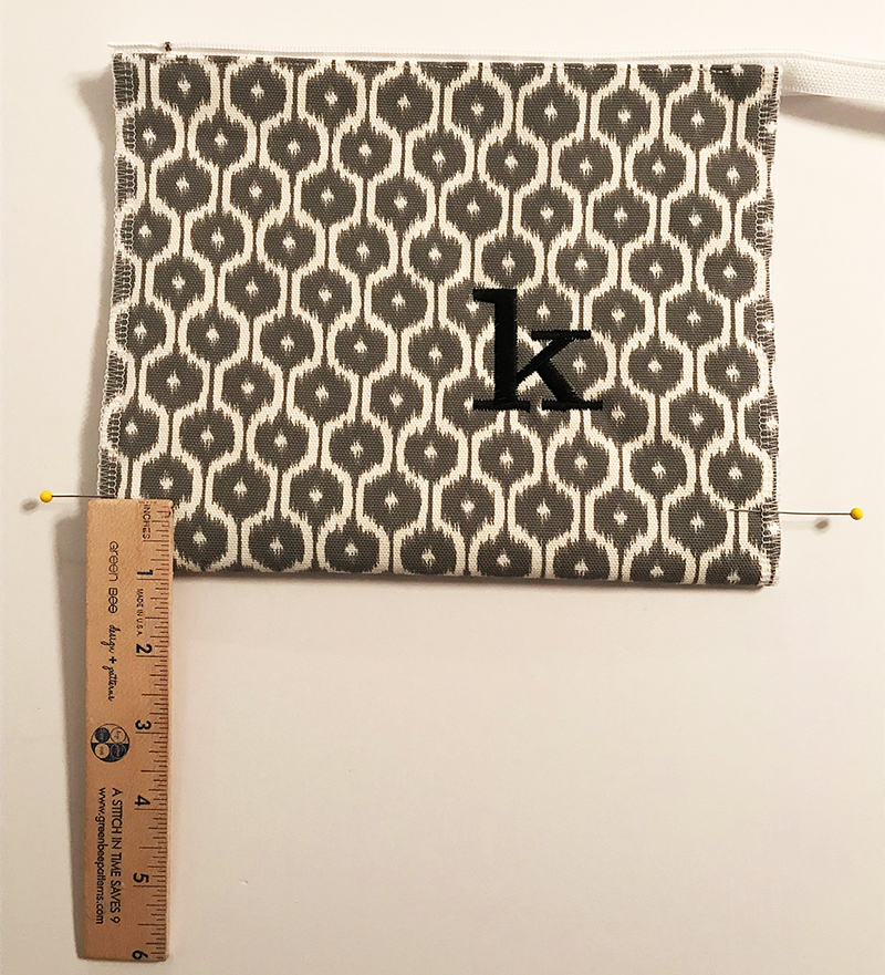 Brother Zipper Bag Project