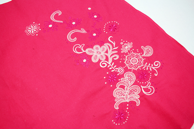 Embroider a Skirt