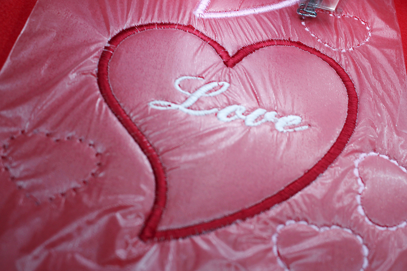 Embroidered Valentines Hearts
