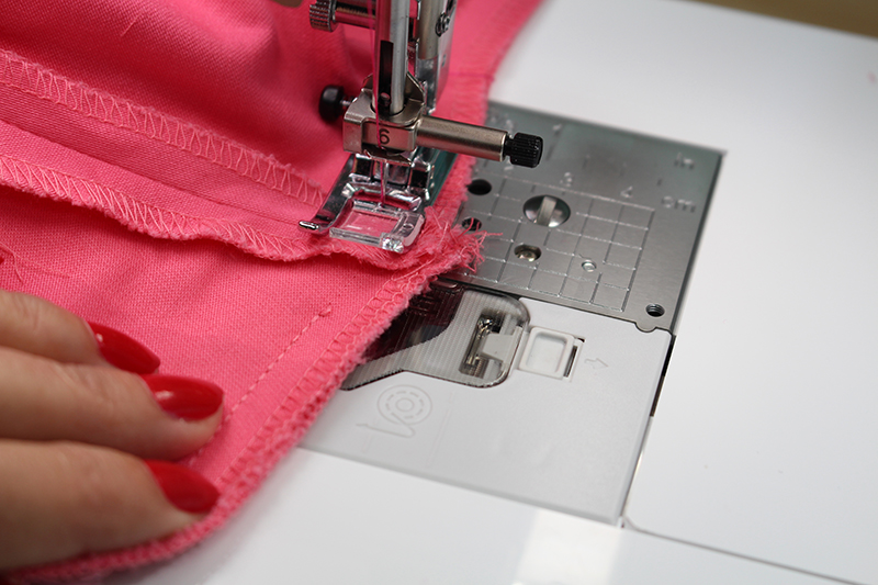 Embroidered Pink Pants