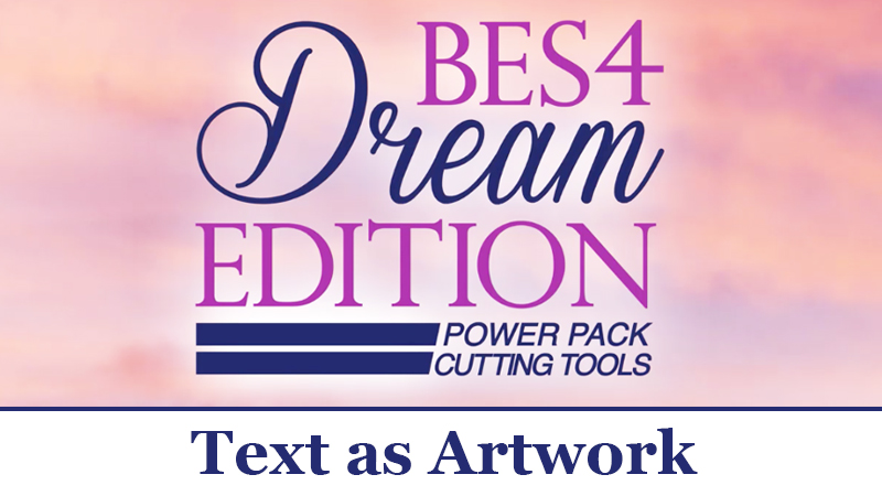BES 4 Video Tutorial: Text as Artwork