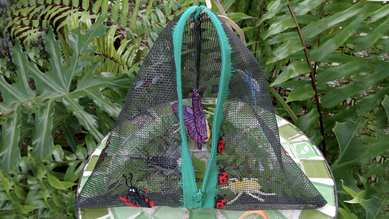 Catching Critters! A Fun DIY Bug Bag