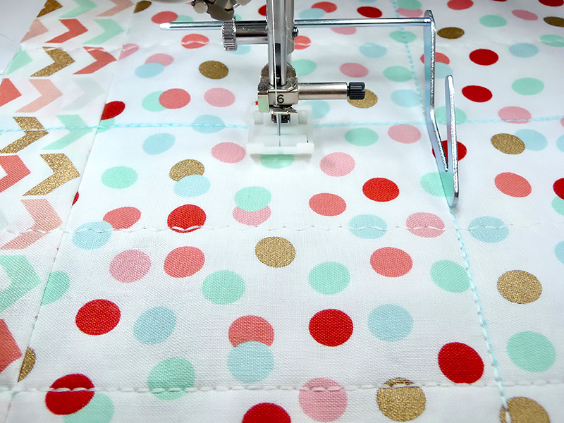 sewing quilt fabric