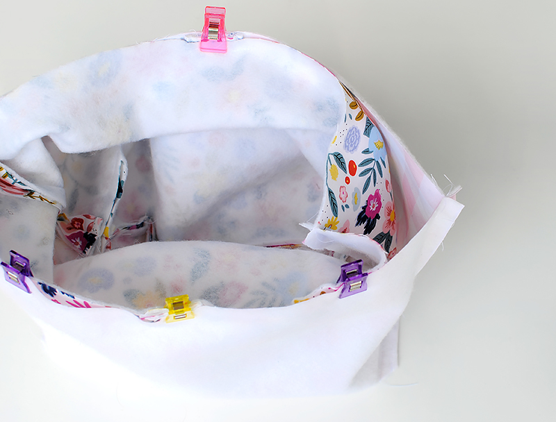 place basket into liner