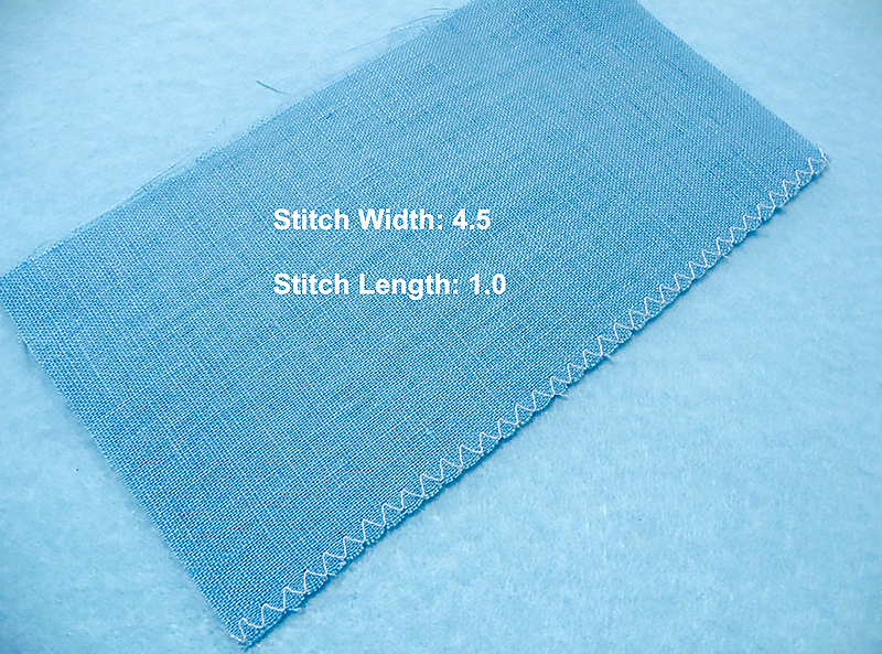 Linen stitch specifications