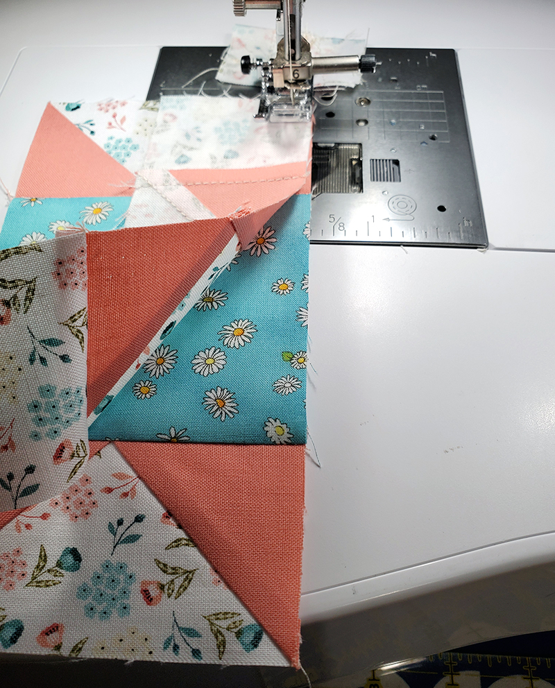 sew steps 6 and 9 together
