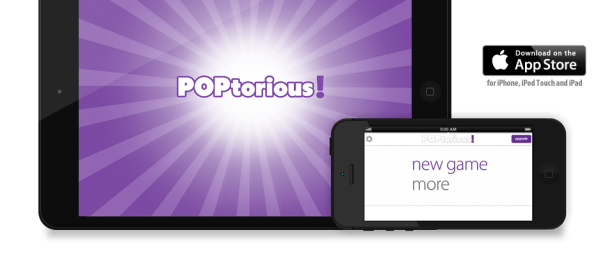 POPtorious! - Party Edition Header