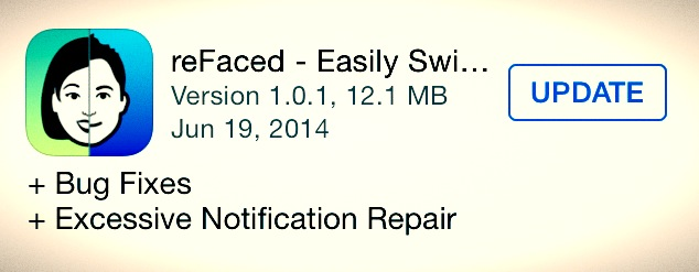 reFacedApp fixed