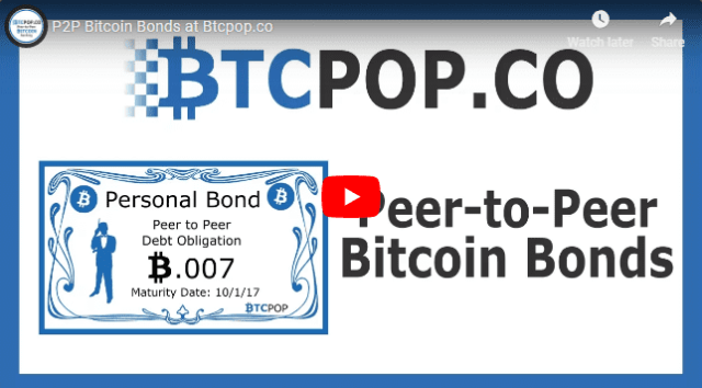 posts P2P Bitcoin Bonds- Video