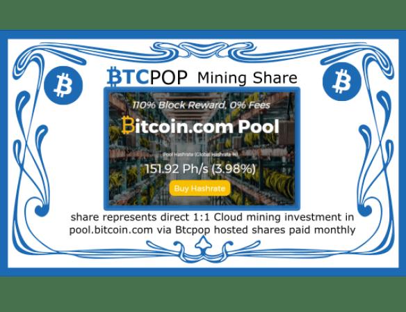 Btcpop co launches 50Btc Bitcoin com mining IPO | BTCPOP Blog