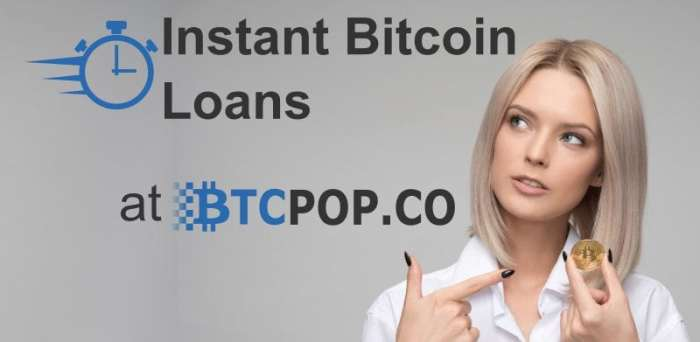 Loan bitcoins free limited risk spread betting account