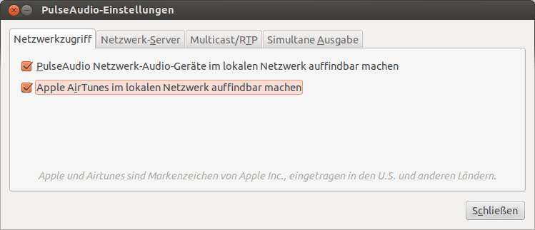 ubuntu-airplay