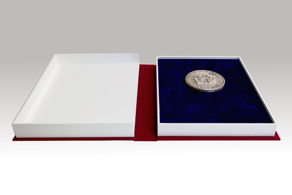 Kassette für eine Medaille
