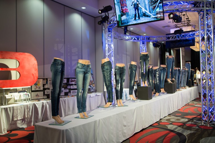 Buckle's 50th Anniversary Museum   Denim over the years