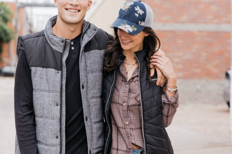 his and hers vest - wool and fleece, ultimate cool style