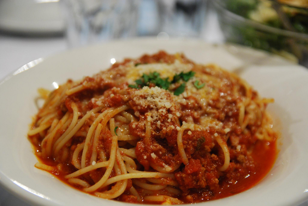 red spaghetti bolognese color and food tasty colors for your eyes