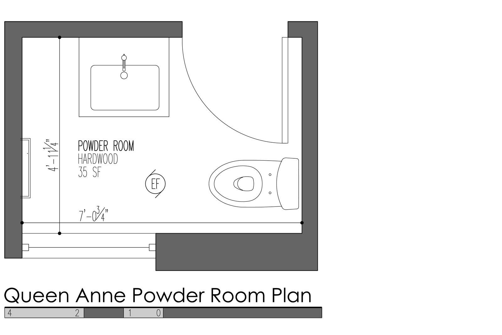 5 Design Features For Modern Powder Rooms