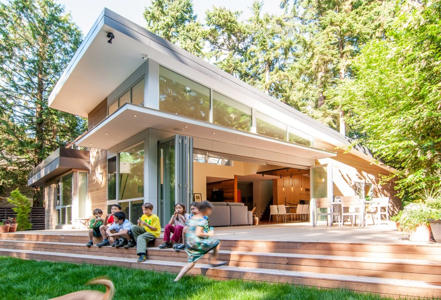 Modernism Beyond the Shed Roof   BUILD Blog BUILD LLC BAV Ext Deck Kids 13