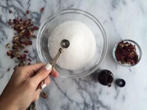 Lavender Rose Bath Soak Recipe 4