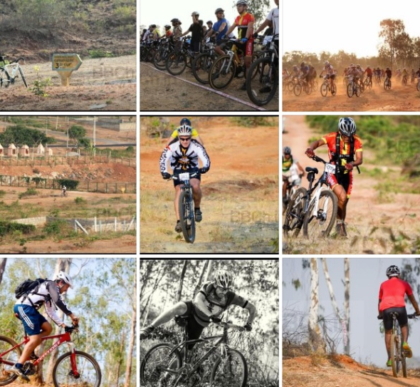 Cross country Bicycle race in Bangalore - Bangalore Bicycle championships