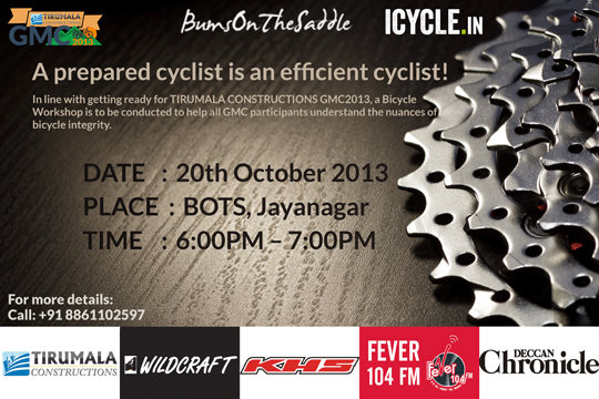 Great Malnad Challenge - bicycling workshop