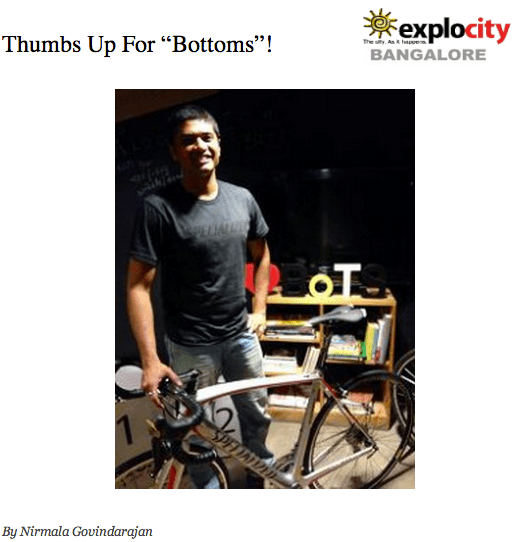 rohan and bumsonthesaddle on explocity - more about Cycling and BumsOnThesSaddle