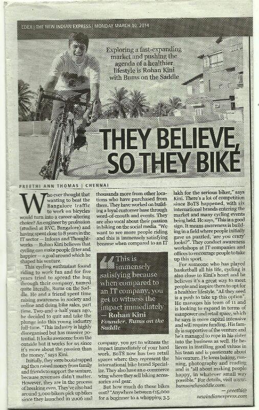 BOTS Media - They believe - so they bike