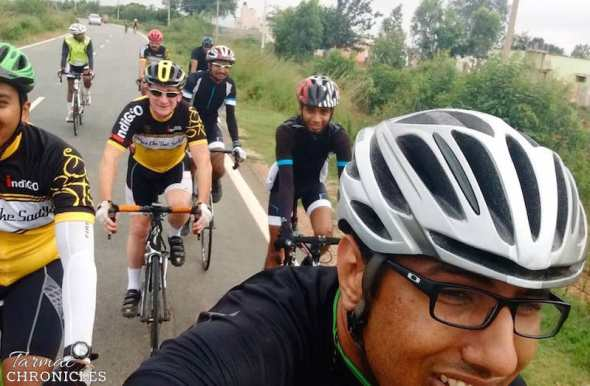 Tarmac Chronicles1 - road riding in Bangalore