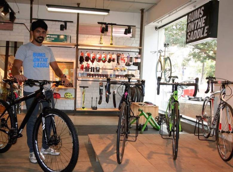 nitin-areekal sales representative at BUMSONTHESADDLE