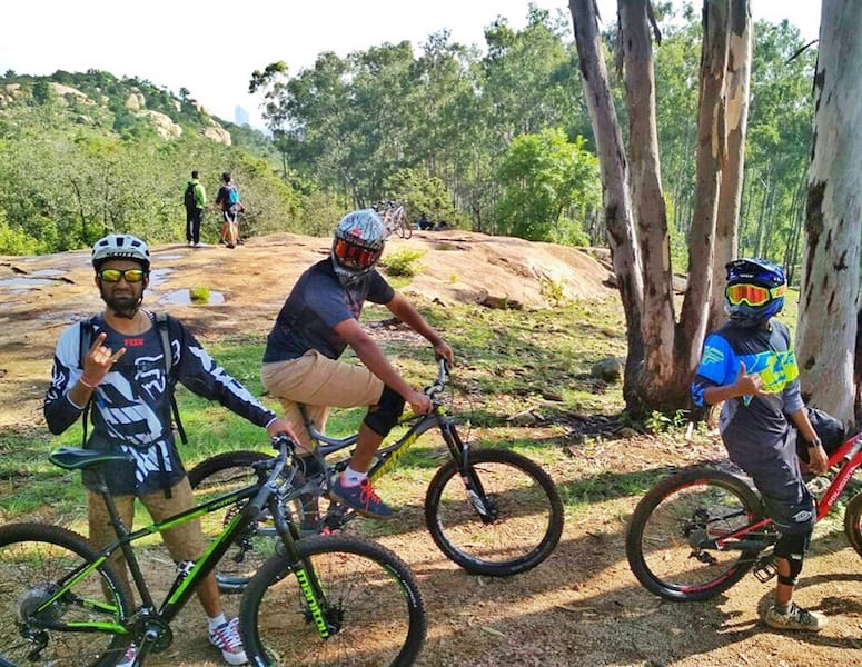BOTS Shop Rides Bangalore City Cycling