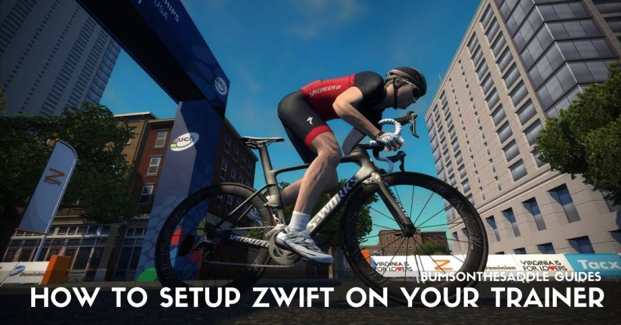 Setting up Zwift on your Trainer | BUMSONTHESADDLE 4.36.54 PM