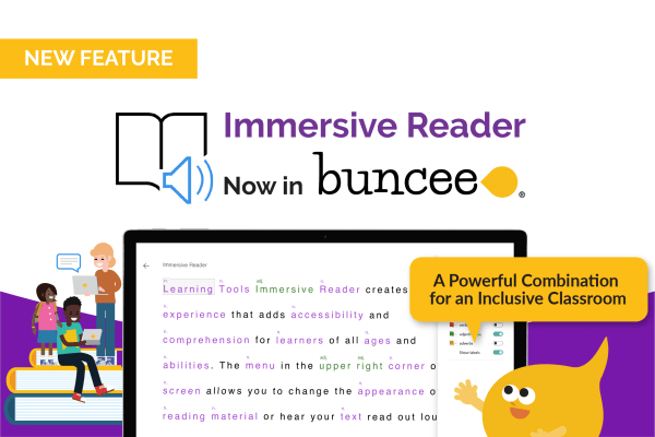 Buncee + Immersive Reader: A Powerful Combination for an Inclusive Classroom - Header