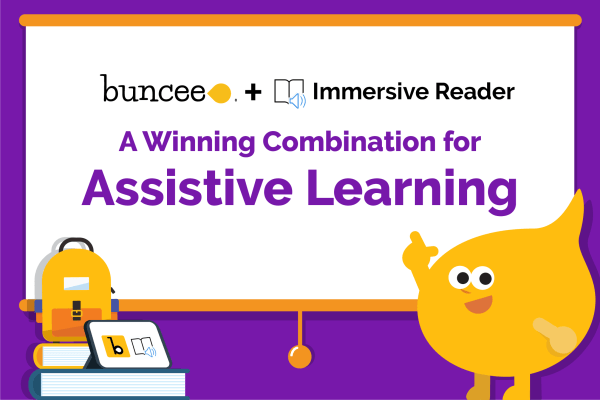 Buncee and Immersive Reader