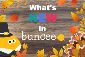What's New in Buncee-Week of Nov 26