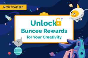 Gamification in Buncee:  Unlock Buncee Rewards
