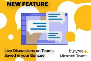 New Feature:  Buncee Integration with Microsoft Teams